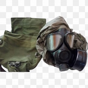 Gas Mask - Gas Mask Personal Protective Equipment Headgear Military PNG