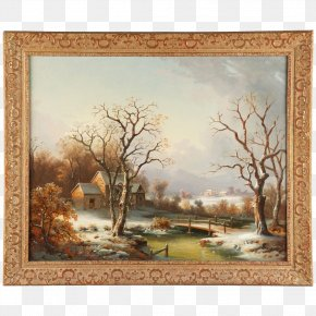 Painting - Watercolor Painting Work Of Art Landscape Painting PNG