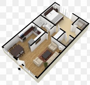 Plan - Loft Apartment Square Foot House Plan PNG