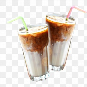 Frozen Milk Ad - Milkshake Coffee Hong Kong-style Milk Tea Smoothie PNG