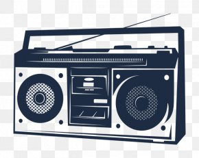 Vector,Hand-painted Cartoon,radio - Radio Industry Advertising FM Broadcasting Internet Radio PNG