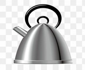 Kitchen Kettle - Kettle Teapot Kitchen Clip Art PNG