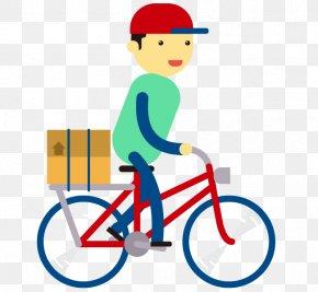 Vector Bike Courier Logistics - Courier Logistics Truck PNG