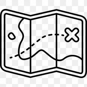 Treasure Map Icon - Treasure Map Clip Art PNG