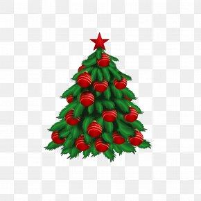 Christmas Tree - Christmas New Years Day Happiness Wish PNG