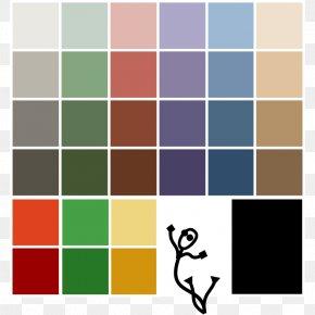 Database Icon - Color Scheme Palette Clip Art PNG