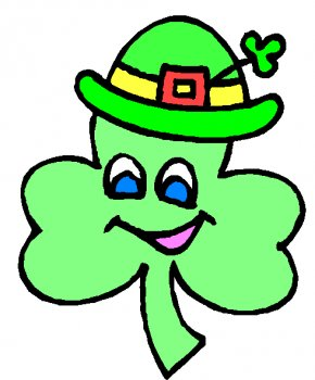 Happy St Patricks Day Clipart - Shamrock Saint Patricks Day Free Content Clip Art PNG