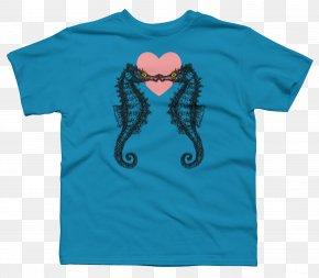 T-shirt - T-shirt Hoodie Sleeve Crew Neck PNG