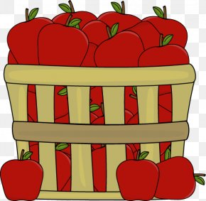 Apple Clip Art - The Basket Of Apples Apple Cider Clip Art PNG