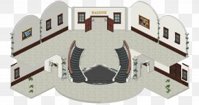 Habbo - Habbo Room Hall Advertising Consola PNG