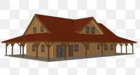 3d Model Home - Kit House Barn Pole Building Framing PNG