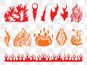 Creative Flame Pattern - Flame Fire Clip Art PNG