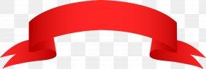 Ribbon Image - Red Angle Logo Clip Art PNG
