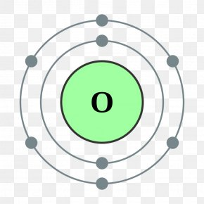 Electron House - Atomic Number Oxygen Bohr Model Chemical Element PNG