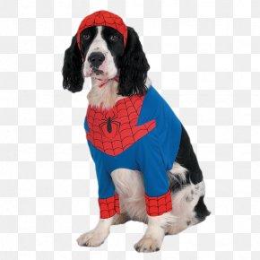 Spiderman Costumes Puppy - Spider-Man Dog Iron Man Costume Pet PNG