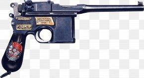 Mauser Handgun Image - Mauser C96 Pistol Handgun PNG