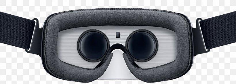 Samsung Gear VR Oculus Rift Virtual Reality Headset Samsung Galaxy S6, PNG, 900x321px, Samsung Gear Vr, Audio, Audio Equipment, Eyewear, Goggles Download Free