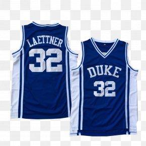 T-shirt - Utah Jazz Duke Blue Devils Men's Basketball T-shirt Sports Fan Jersey PNG