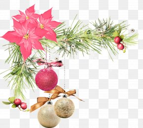 Christmas - Christmas Ornament Santa Claus New Year PNG