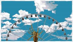 Wheel - Spider Web Ferris Wheel Clip Art PNG