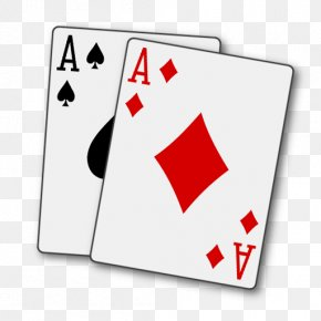 Suit - Bicycle Playing Cards Ace Of Spades Ace Of Hearts PNG