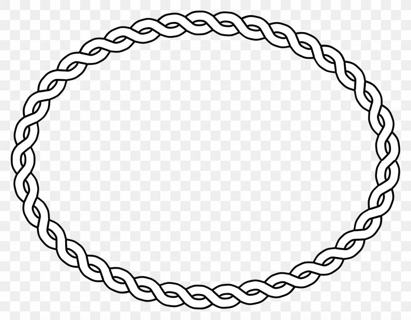 Borders And Frames Picture Frames Oval Clip Art, PNG, 1331x1035px, Borders And Frames, Area, Black And White, Body Jewelry, Braid Download Free