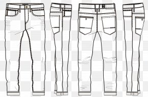 Jeans - Jeans Shoe Trousers PNG