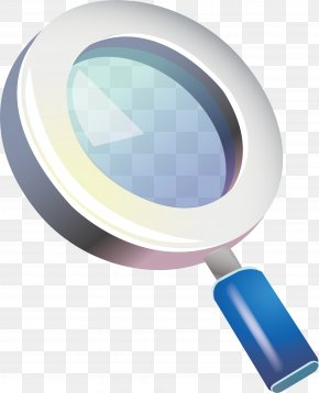 Magnifying Glass Vector Element - Magnifying Glass Mirror Euclidean Vector PNG