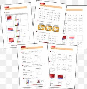 Mathematics - Mathematics Number Subtraction Addition Paper PNG