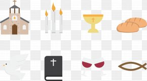 Cartoon Vector Elements Church - Download Icon PNG