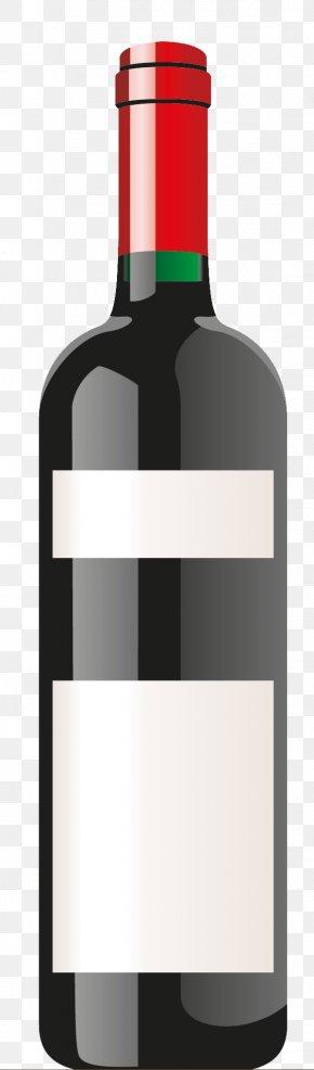 Wine,Red Wine - Red Wine Bottle The Wild Vine Wine Glass PNG