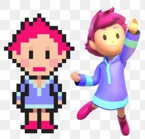 Mother 3 Lucas Kumatora - Mother 3 Kumatora Super Smash Bros. Ultimate Lucas Ness PNG