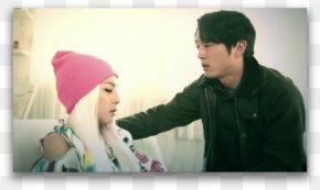 Samuel L Jackson - Sandara Park South Korea The Walking Dead Funny Or Die 2NE1 PNG