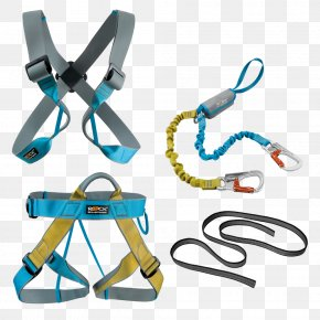 In Harness - Climbing Harnesses Safety Harness Via Ferrata Rock-climbing Equipment PNG