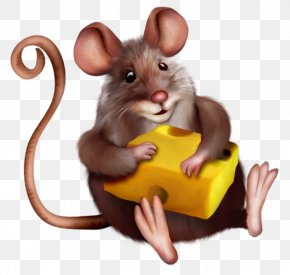 Mouse With Cheese Clipart Cartoon - Mouse Macaroni And Cheese Clip Art PNG