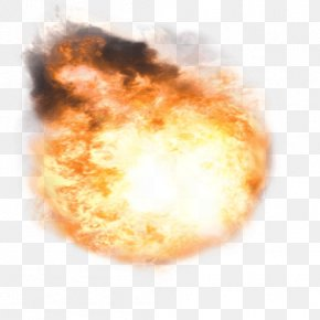 Flame Explosion Effect - Muzzle Flash Flame PNG