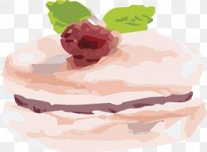 Macarons - Buttercream Frozen Dessert Food PNG