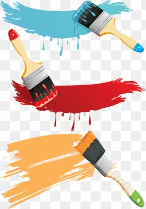 Painting - Watercolor Painting Paintbrush PNG