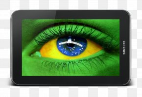 Football - Brazil National Football Team 2014 FIFA World Cup Flag Of Brazil PNG