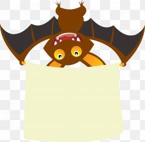 Bat - Web Banner Clip Art PNG
