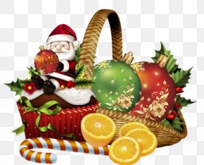 Christmas - Christmas Ornament Gift Santa Claus Clip Art PNG