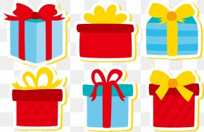 Creative Christmas Gifts - Paper Euclidean Vector Gift PNG