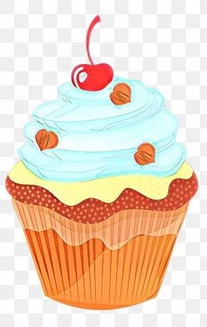 Muffin Icing - Orange PNG