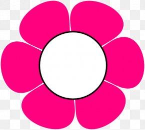 Flower Clip Art - Purple Pink Flowers Clip Art PNG
