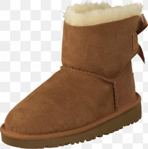 Boot - Snow Boot Shoe UGG Suede PNG