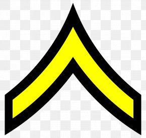 United States - United States Private First Class Military Rank PNG