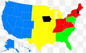 United States - United States Senate Elections, 2018 US Presidential Election 2016 Red States And Blue States PNG