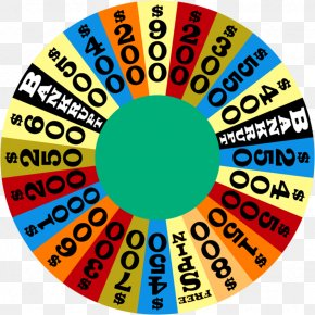 Wheel Of Dharma - Game Show Wheel Of Fortune 2 Television Show PNG