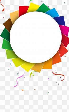 Color Flat Element - Poster Clip Art PNG
