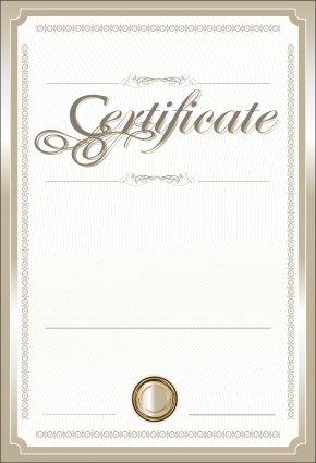 Certificate Clip Art Image - Template Clip Art PNG